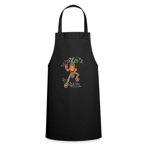 KarateKarotteTexte - Tablier de cuisine