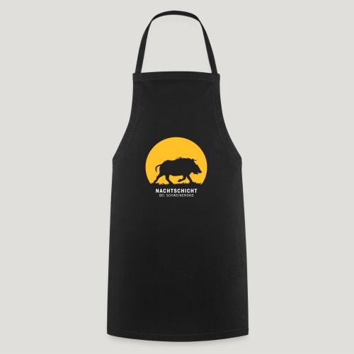 Nachtschicht bei Schweinemond! Jäger Shirt Jaeger - Kochschürze