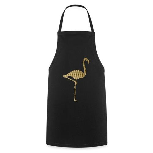Flamingo Gold - Kochschürze