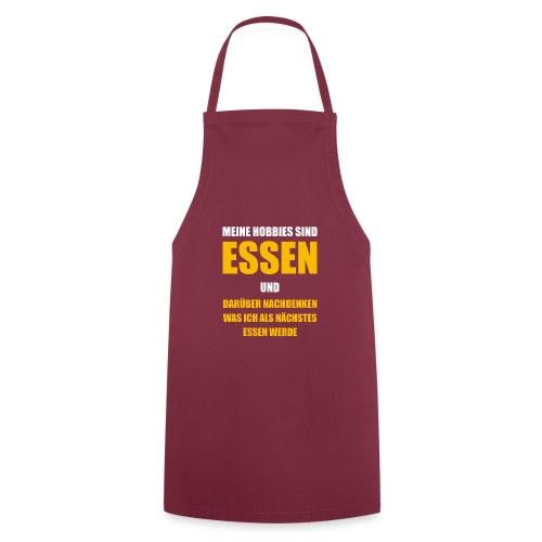Hobby Essen Speisen Koch Shirt Geschenk - Kochschürze