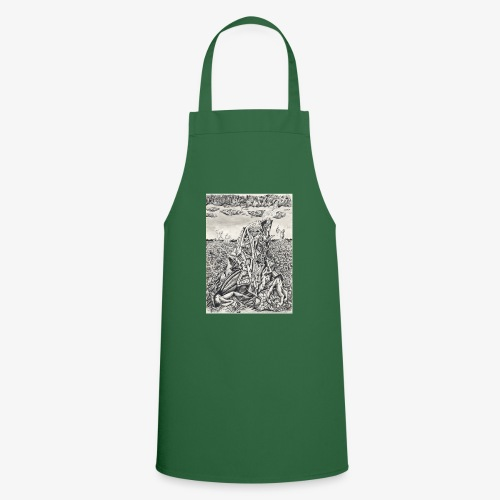 Intimidation by Brian benson - Cooking Apron