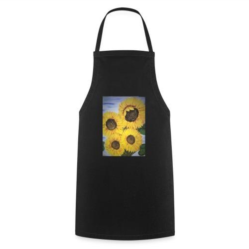 SonnenblumeIMG 20180815 090758 - Kochschürze