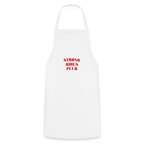 STRONG GIRLS CLUB - Delantal de cocina