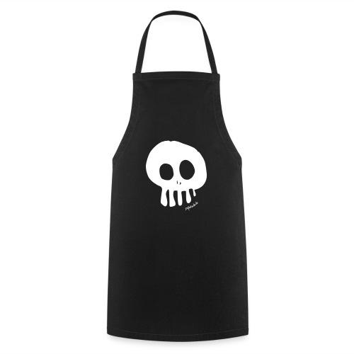 skull_v2 - Kochschürze