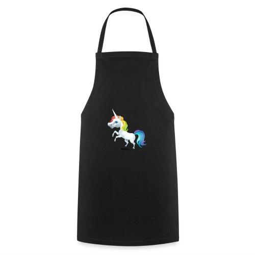 Rainbow enhjørning - Kokkeforkle