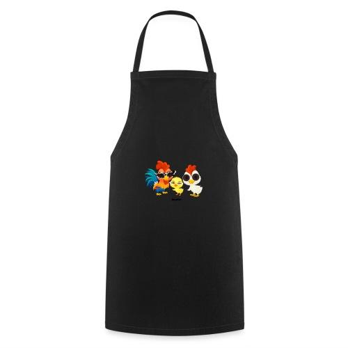 Kurczak - autorstwa Momio Designer Emeraldo. - Fartuch kuchenny