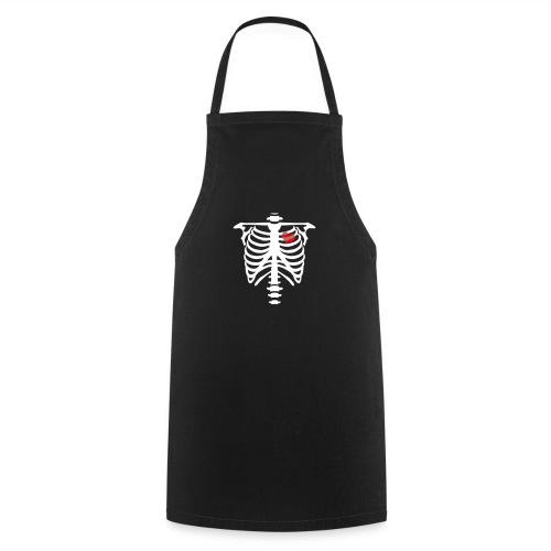 skull heart - Tablier de cuisine