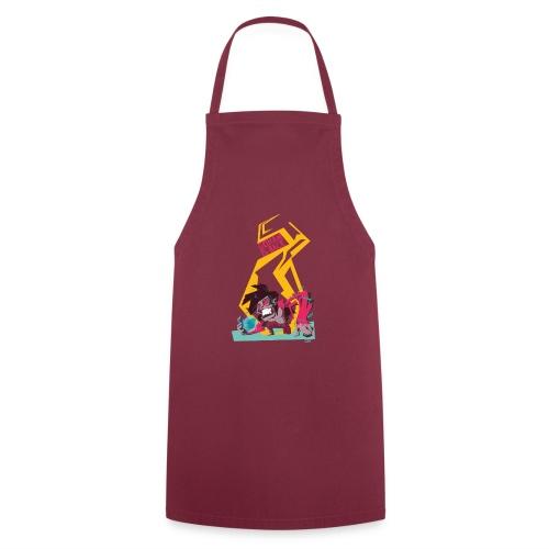 gohan dbz monkey - Tablier de cuisine