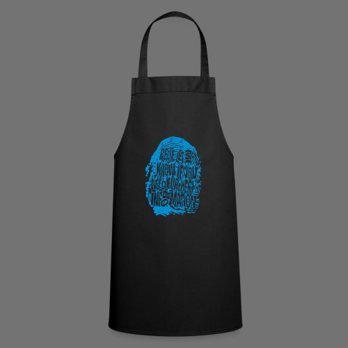 Fingerprint DNA (blue) - Cooking Apron
