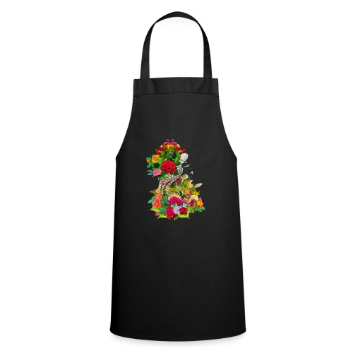 Lady flower - Tablier de cuisine
