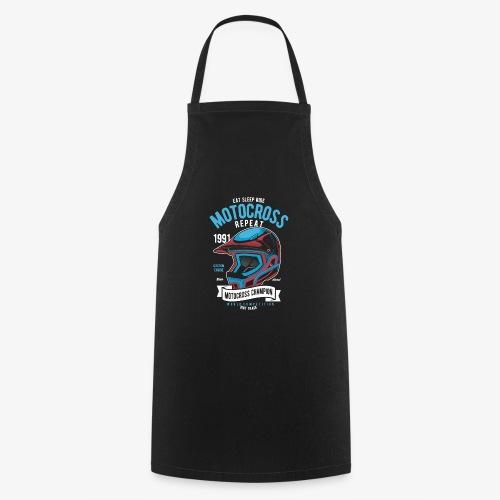 Casque de champion de motocross - Tablier de cuisine