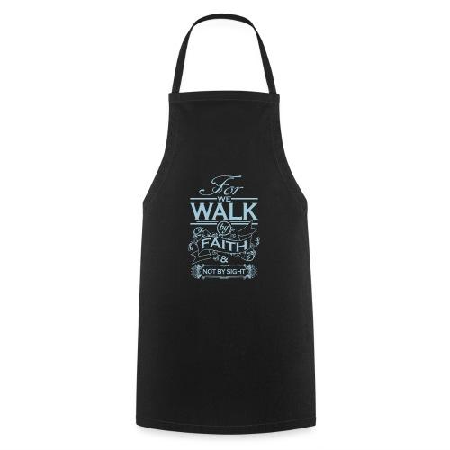 walk powder blue - Cooking Apron