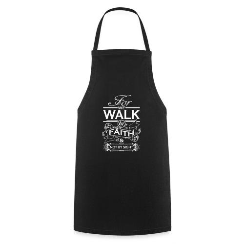 walk white - Cooking Apron