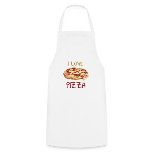 I love Pizza - Kochschürze