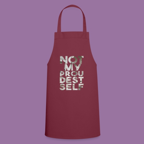 NOT MY PROUDEST SELF - Grembiule da cucina