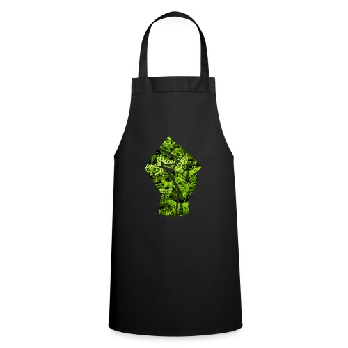 Green Power punch - all lives matter - Cooking Apron