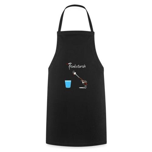 Trinkstorch Logo Weis - Kochschürze