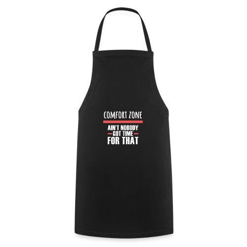 Komfort Zone Entwicklung Geschenk Herausforderung - Kochschürze