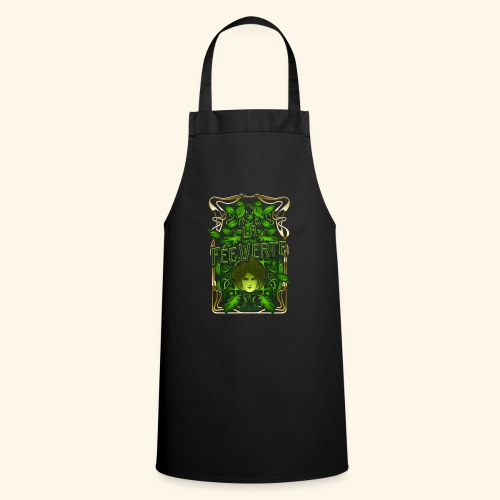 Absinth T Shirt Design La Fée Verte Art Nouveau - Kochschürze