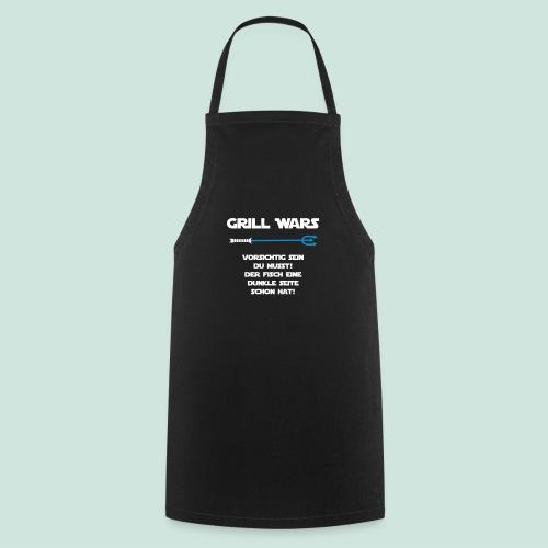 Grill Wars dunkle Seite Fisch - Kochschürze