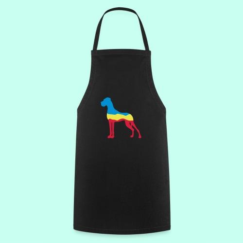 Flaggen Dogge - Kochschürze