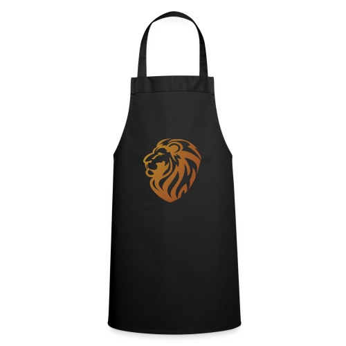 Bronze lion - Tablier de cuisine