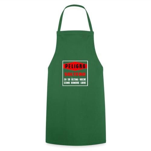 Peligro soltero - Delantal de cocina