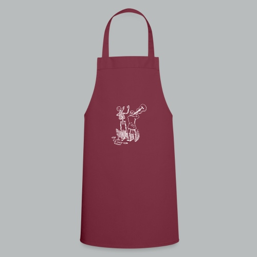 DFBM unbranded white - Cooking Apron