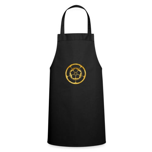 Oda Mon Japanese samurai clan in gold - Cooking Apron