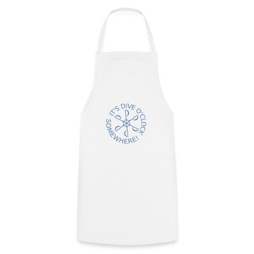 Dive o clock Light Blue - Cooking Apron