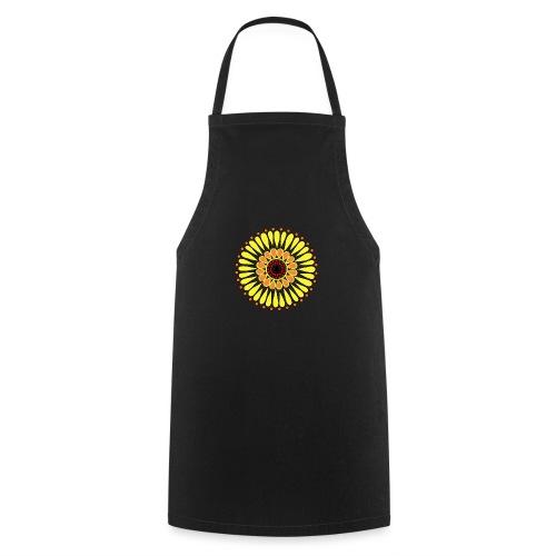 Yellow Sunflower Mandala - Cooking Apron