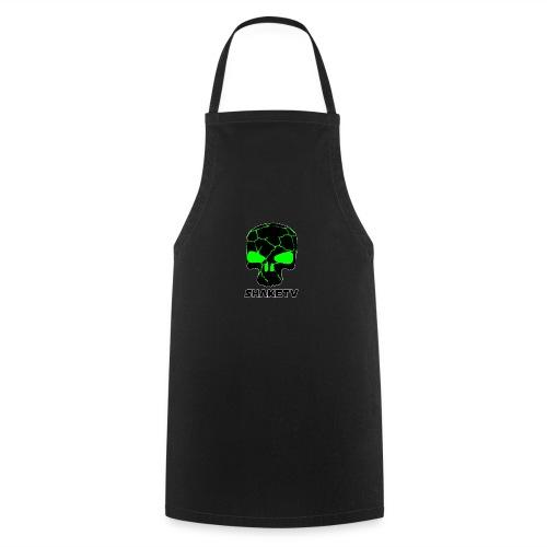shaketv verde scritta sotto contorno bianco 4 - Grembiule da cucina