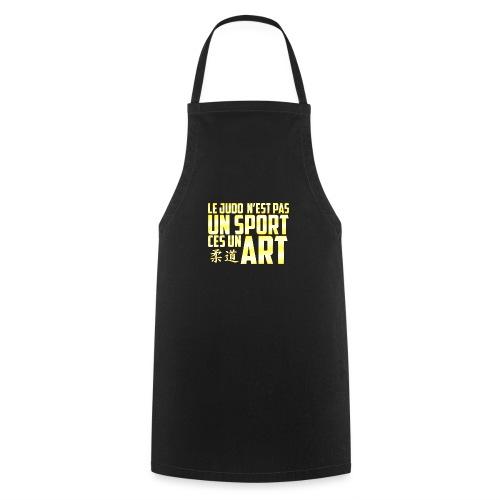 Le T-Shirt du Judoka ! - Tablier de cuisine