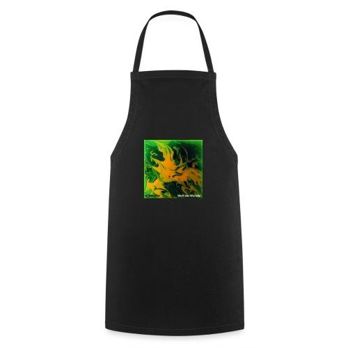 TIAN GREEN Mosaik DE002 - Welt der Wunder - Kochschürze