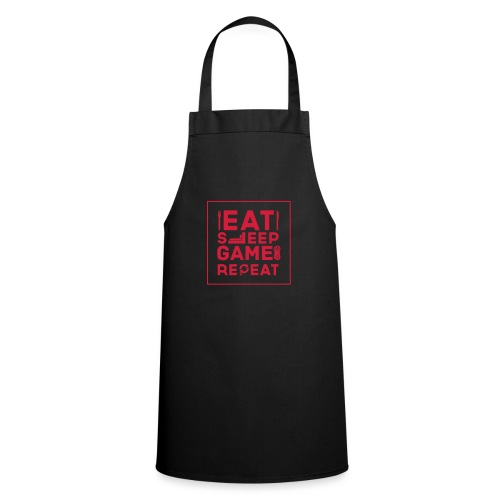 Eat, Sleep, Game, Repeat. - Cooking Apron
