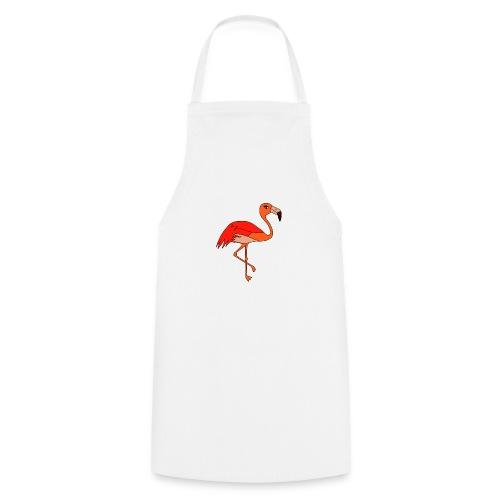 Flamingo - orange-rot - Kochschürze