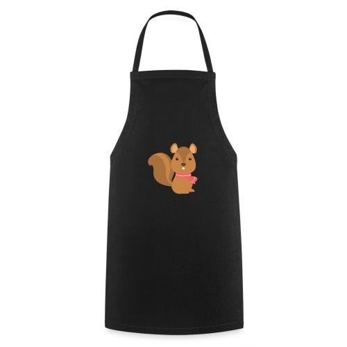 The Squirrel - Winter Animals - Grembiule da cucina