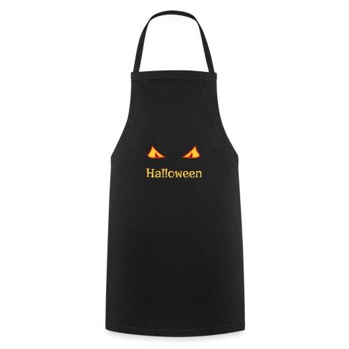 Halloween und gruselige Augen - Kochschürze