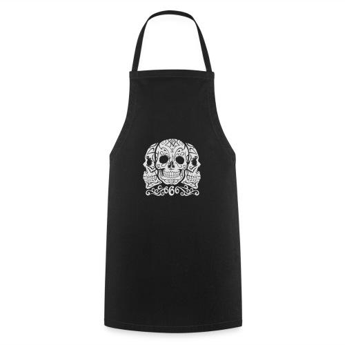 Skull Dia de los muertos - Tablier de cuisine