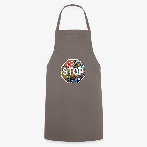 panneau stop pidraw - Tablier de cuisine