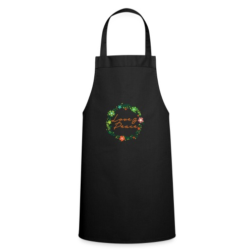 Love and Peace - Cooking Apron