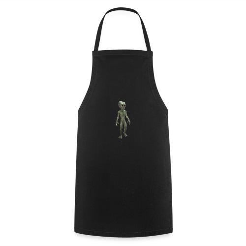 alien real - Delantal de cocina