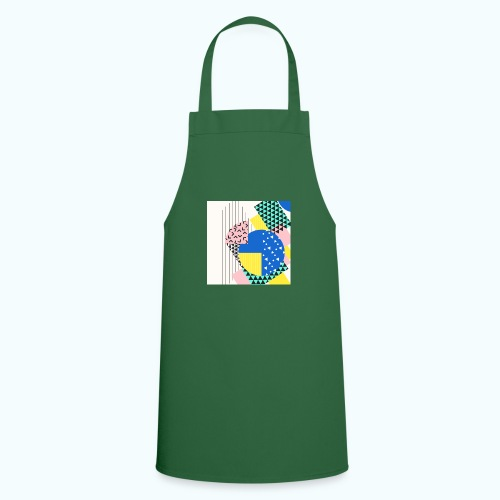 Retro Vintage Shapes Abstract - Cooking Apron