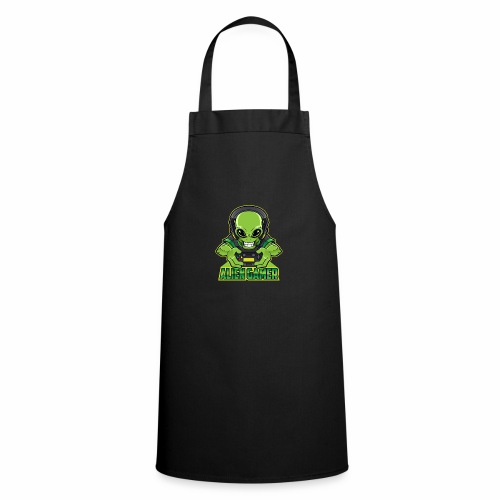 AlienGamer Testo - Grembiule da cucina
