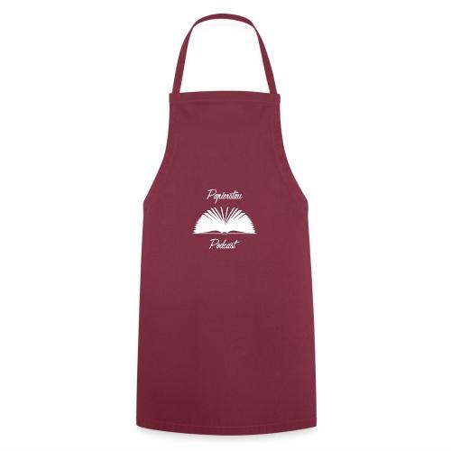 Papierstau Logo (hell) - Kochschürze