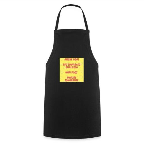 Frase motivazionale - Grembiule da cucina