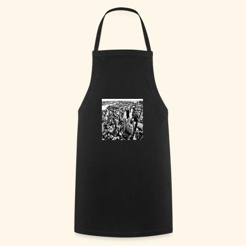 Manhattan in bianco e nero - Grembiule da cucina