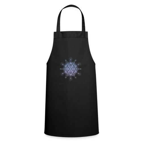 Sacred Star Dimensions Gradient - Cooking Apron