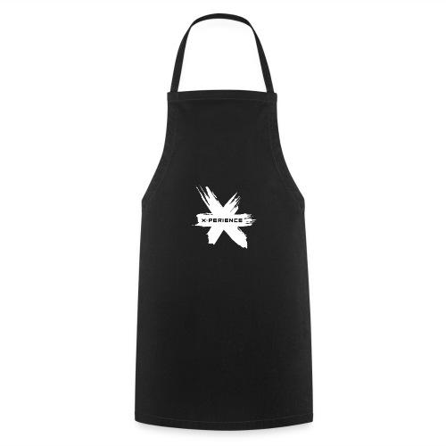 x-perience Logo weiß - Kochschürze