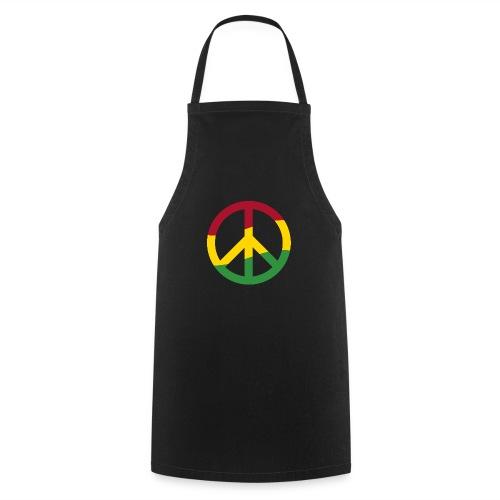 Peacezeichen Rastafari Reggae Musik Frieden Pace - Cooking Apron